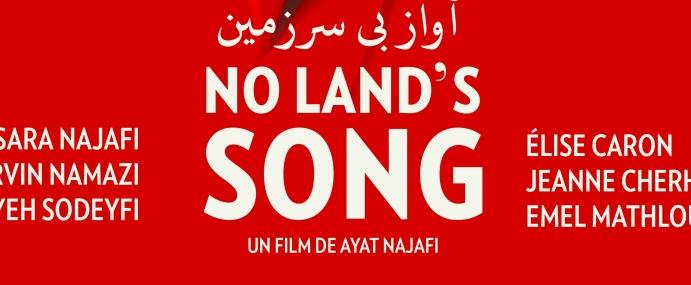 NO LAND'S SONG de Ayat Najafi sera en salles à partir du 16 mars prochain.