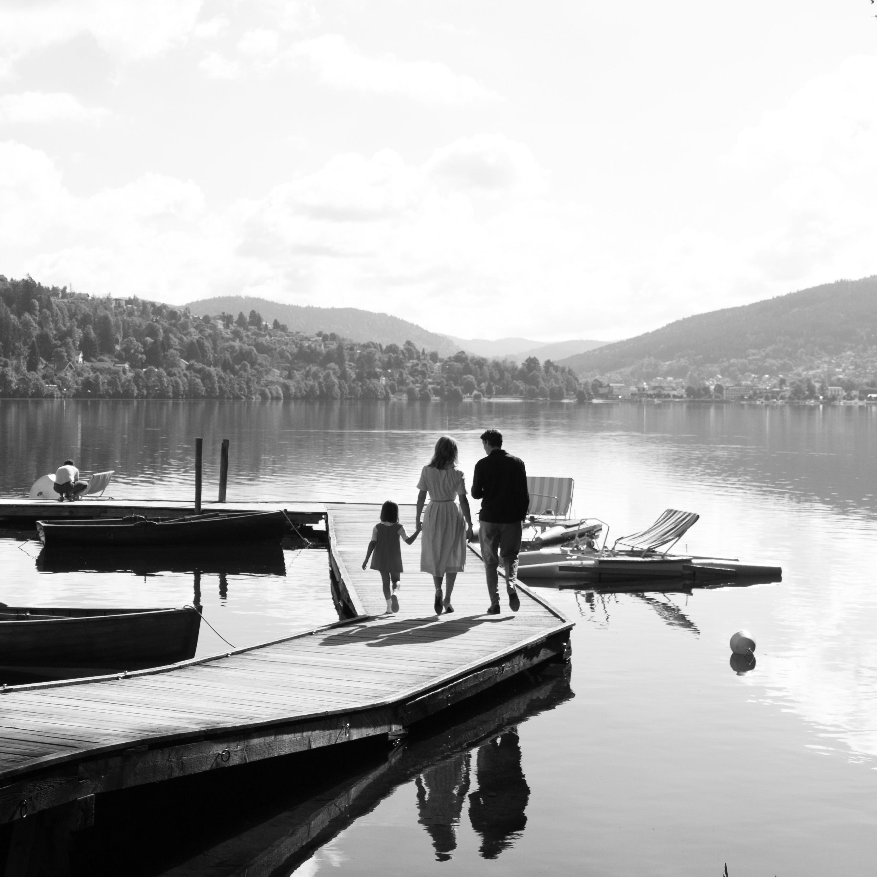 Sur le lac de Gérardmer
